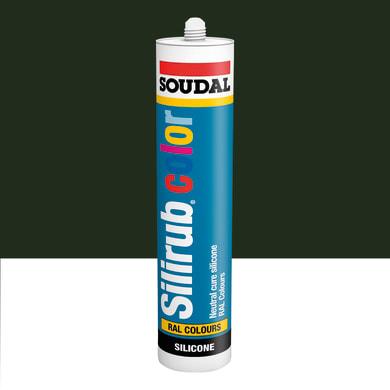 Silicone SOUDAL Multiuso Colorato RAL 6022 oliva brunastro 300 ml