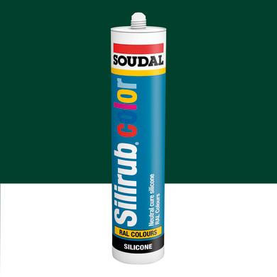 Silicone SOUDAL Multiuso Colorato RAL 6005 verdemuschio 300 ml