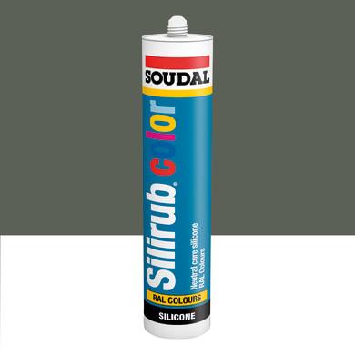 Silicone SOUDAL Multiuso Colorato RAL 7039 grigio quarzo 300 ml