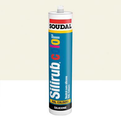 Silicone SOUDAL Multiuso Colorato RAL 9001 biancocrema 300 ml