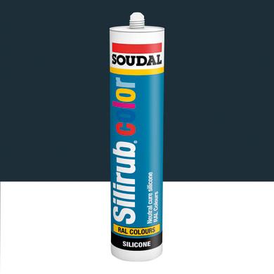 Silicone SOUDAL Multiuso Colorato RAL 7021 grigio nerastro 300 ml