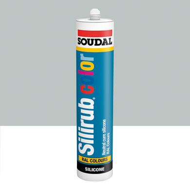 Silicone SOUDAL Multiuso Colorato RAL 7035 grigio luce 300 ml