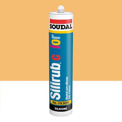Silicone SOUDAL Multiuso Colorato RAL 1002 giallo sabbia 300 ml