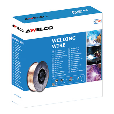 Bobina di filo di stagno AWELCO 300 g, Ø 0.9 mm