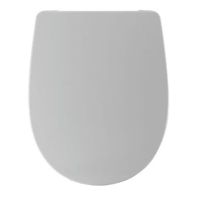 Copriwater ovale Dedicato per serie sanitari Geo termoindurente bianco