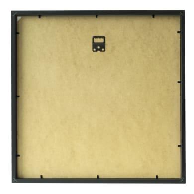 Cornice con passe-partout Inspire milo nero 50x50 cm