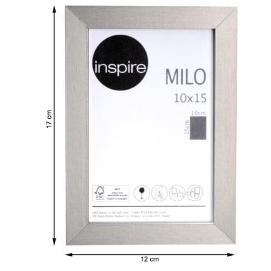 Cornice INSPIRE Milo argento per foto da 10x15 cm
