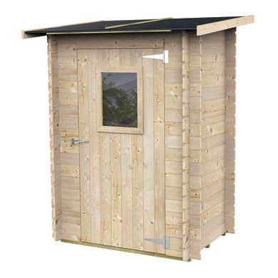 Casetta da giardino in legno Rosa,  superficie interna 0.92 m² e spessore parete 19 mm