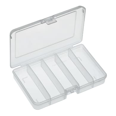 Valigetta 101/BTN in plastica trasparente 5 scomparti