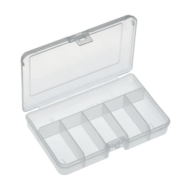 Valigetta 101ATN in plastica trasparente 6 scomparti