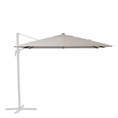 Telo di ricambio ombrellone aura NATERIAL colore tortora 286 x 286 cm