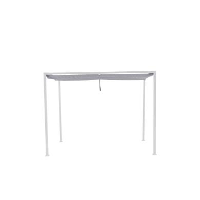 Telo di ricambio in poliestere per pergola Horali, grigio / argento 289 x 187 cm