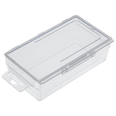 Contenitore per viti con cassetti D2 in plastica trasparente
