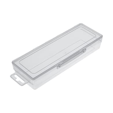 Contenitore per viti con cassetti F1 in plastica trasparente