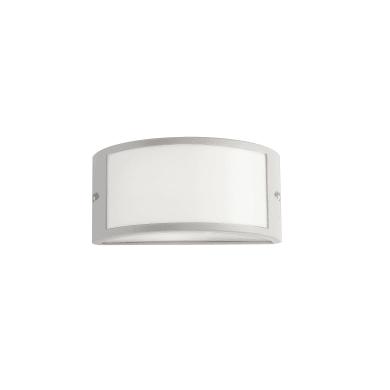 Applique per giardino AUSTIN-BCO in alluminio, bianco, E27 MAX42W IP54