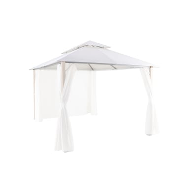 Telo di ricambio in poliestere per gazebo Agora, bianco 302 x 404 cm
