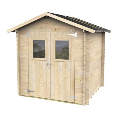 Casetta da giardino in legno Calla 3.03 m² spessore 19 mm