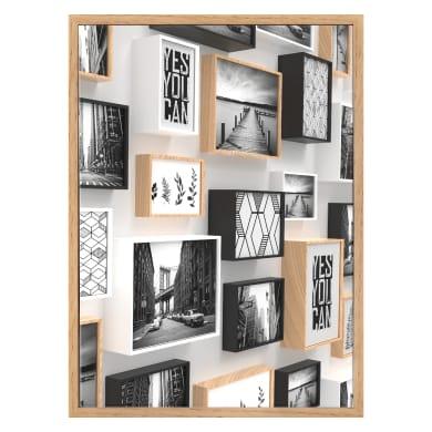 Cornice INSPIRE Cube rovere per foto da 13x18 cm