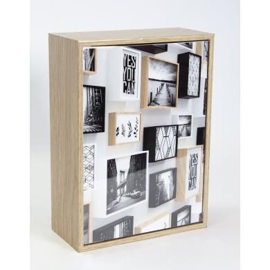 Cornice INSPIRE Cube rovere per foto da 10x15 cm
