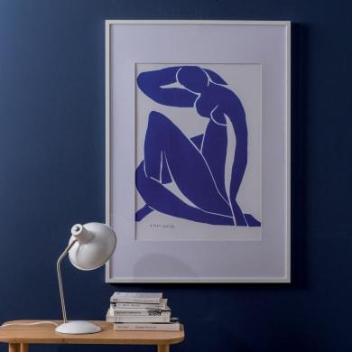 Cornice con passe-partout Inspire milo bianco 40x50 cm