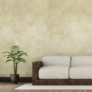 Pittura ad effetto decorativo Sabbia 4 l argento bianco avorio effetto sabbiato