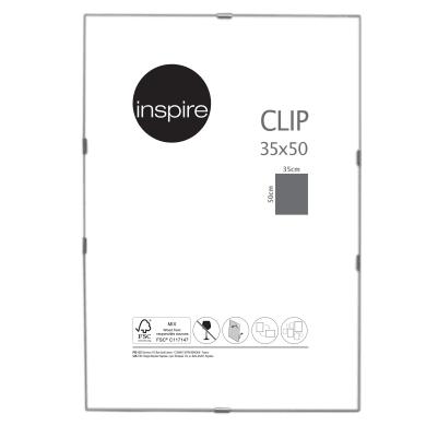 Cornice a giorno INSPIRE Clip per foto da 35x50 cm