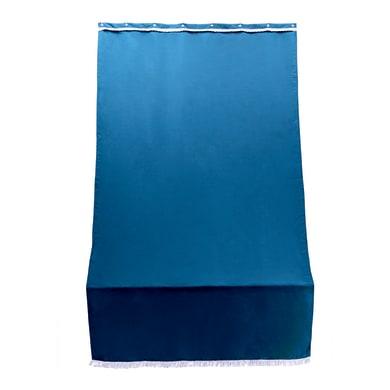 Telo per tenda da esterno blu 140 x 250 cm