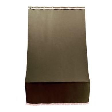 Telo per tenda da esterno marrone 140 x 250 cm