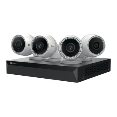 Kit di videosorveglianza a filo EZVIZ NVR 4 canali