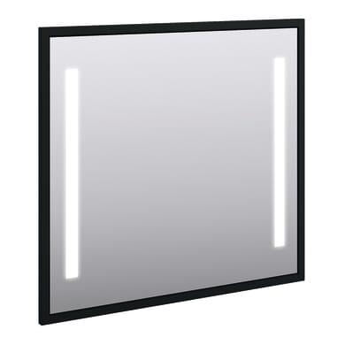 Specchio con illuminazione integrata bagno rettangolare Retro L 98 x H 90 cm BADEN HAUS