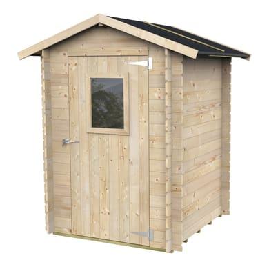 Casetta da giardino in legno Stella,  superficie interna 3.03 m² e spessore parete 19 mm