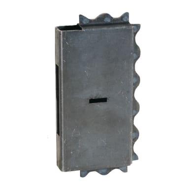 Scatola per serratura cancello 130 x 255 mm
