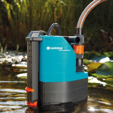Pompa a immersione GARDENA 13000 Aquasensor acqua pulita e caricata