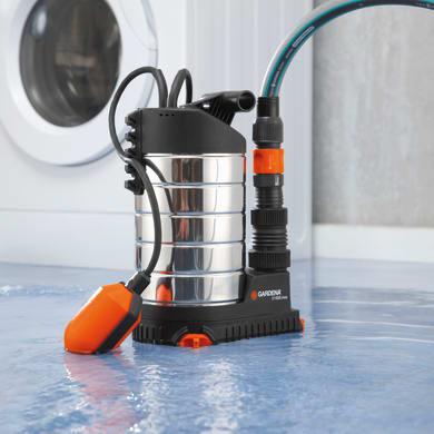 Pompa a immersione GARDENA 21000 Inox acque chiare