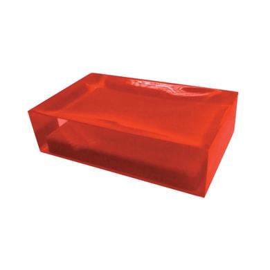 Porta sapone Rainbow rosso