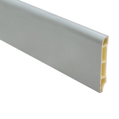Battiscopa Rve 7011 H 7 cm x L 2.5 m argento
