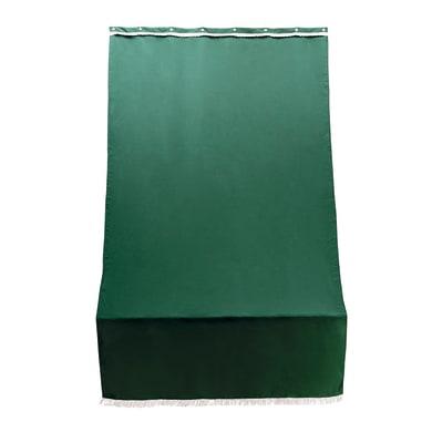 Telo per tendone/tenda da esterni verde unito 1.4 x 2.5 m