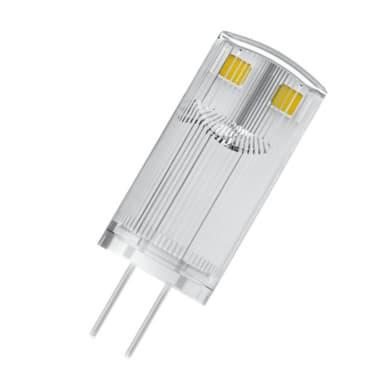 Lampadina LED, G4, Capsula, Trasparente, Luce calda, 0.9W=100LM (equiv 10 W), 300° , OSRAM