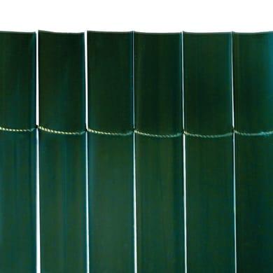 Canniccio mono vista pvc NATERIAL Plasticane verde L 5 x H 2 m