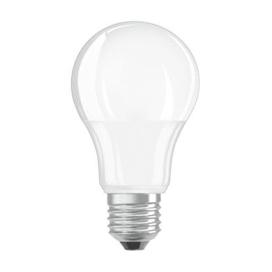 Lampadina LED, E27, Goccia, Opaco, Luce calda, 11W=1055LM (equiv 75 W), 200° , OSRAM