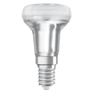 Lampadina LED, E14, Faretto, Trasparente, Luce calda, 1.5W=110LM (equiv 25 W), 36° , OSRAM