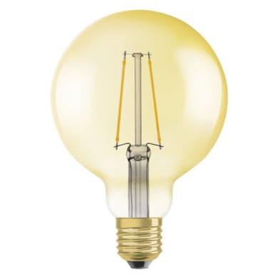 Lampadina LED E27 globo ambrato 4.5W = 420LM (equiv 4.5W) 320° OSRAM