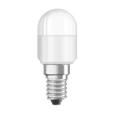 Lampadina LED, E14, Bulbo, Opaco, Luce calda, 2.3W=200LM (equiv 20 W), 160° , OSRAM