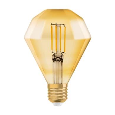 Lampadina LED E27 diamante bianco caldo 4.5W = 470LM (equiv 4.5W) 300° OSRAM