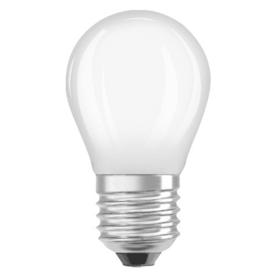 Lampadina LED filamento, E27, Sferico, Opaco, Luce calda, 4.5W=470LM (equiv 40 W), 320° , OSRAM