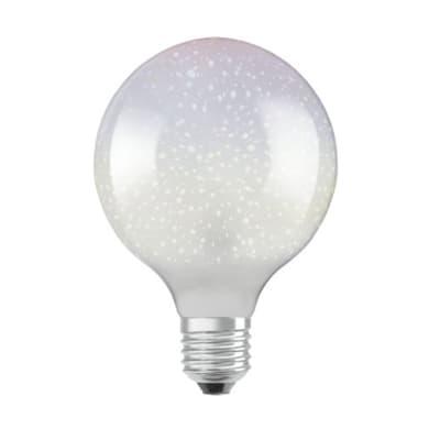 Lampadina LED E27 globo bianco caldo 3W = 70LM (equiv 3W) 300° OSRAM