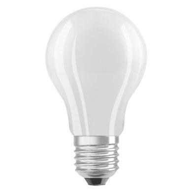 Lampadina LED, E27, Goccia, Opaco, Luce calda, 9W=1055LM (equiv 75 W), 320° , OSRAM