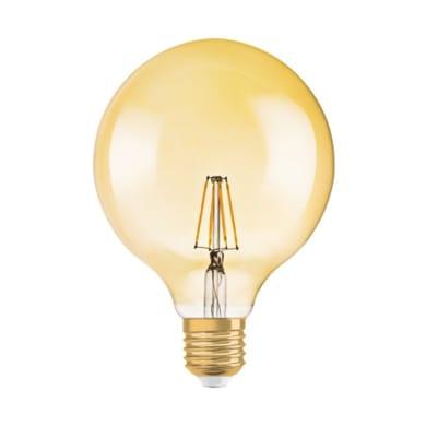 Lampadina LED E27 globo bianco caldo 4.5W = 420LM (equiv 4.5W) 320° OSRAM