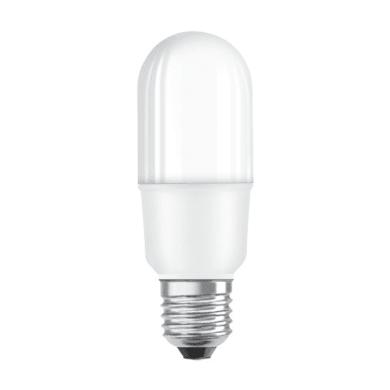 Lampadina LED, E27, Bulbo, Opaco, Luce calda, 8W=806LM (equiv 60 W), 200° , OSRAM
