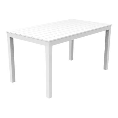 Tavolino da giardino rettangolare Sumatra con piano in polipropilene L 78 x P 138 cm